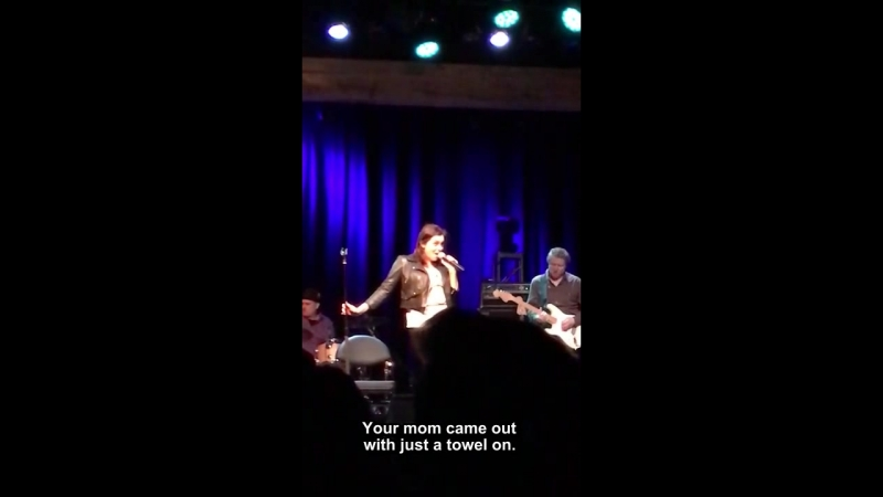 "Rachel Bloom and Adam Schlesinger perform ""Stacy's Mom"" at FTC 2/9/18"