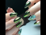 !!! Зеленый маникюр !!! 2018 Суперь дизайн ногтей !!!