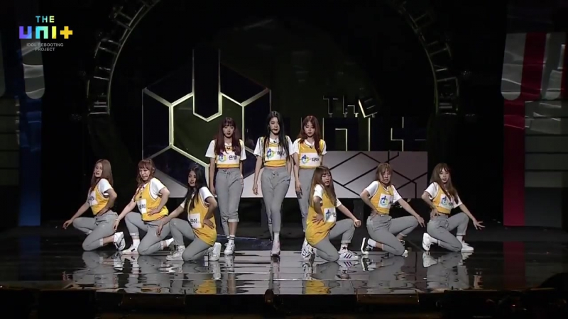 Yellow Team (Heejin) - My Turn Evaluation Stage @ The Unit