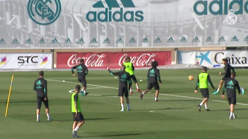 Zidane recupera a todos los internacionales (16/11/17)