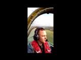 Аэродром Шаршки. Полет на Як-52 с абсолютным чемпионом мира по высшему пилотажу Антоном Беркутовым.
