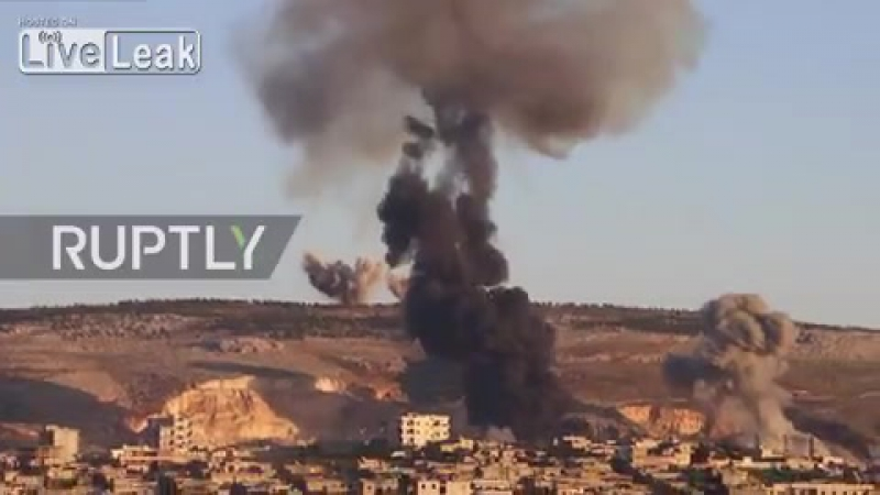 Syria Smoke clouds Afrin as Turkey launches airstrikes