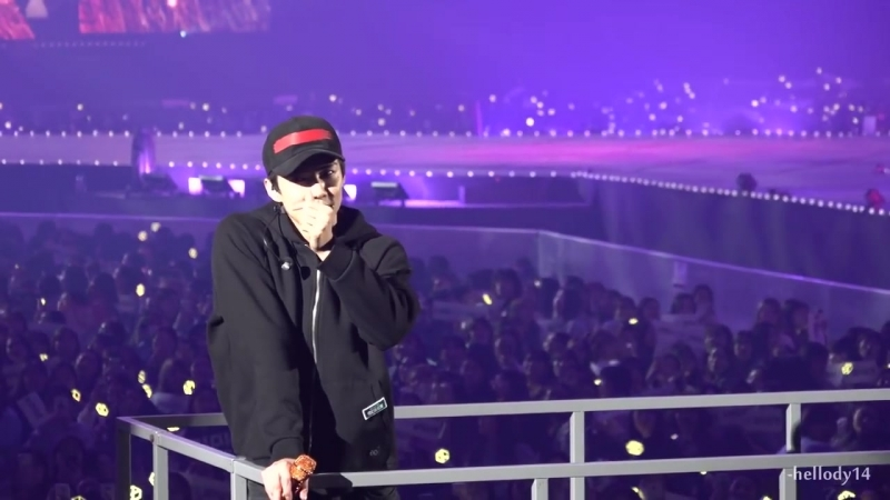[FANCAM] 171126 `The EℓyXiOn` in Seoul: D-3 @EXO's Sehun — Don`t Go