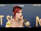 Bella Thorne Flashes Major Cleavage In Sexy Bustier at Midnight Sun Premiere
