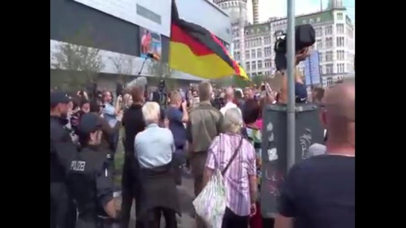 Markus Gehrke - Ankunft Heiko Maas in der Dresdner...
