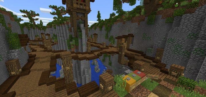 Карта SG Ravine Rush для Minecraft