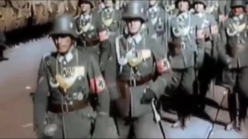 SS Marschiert in Feindesland My favorite NAZI devil matching song ever