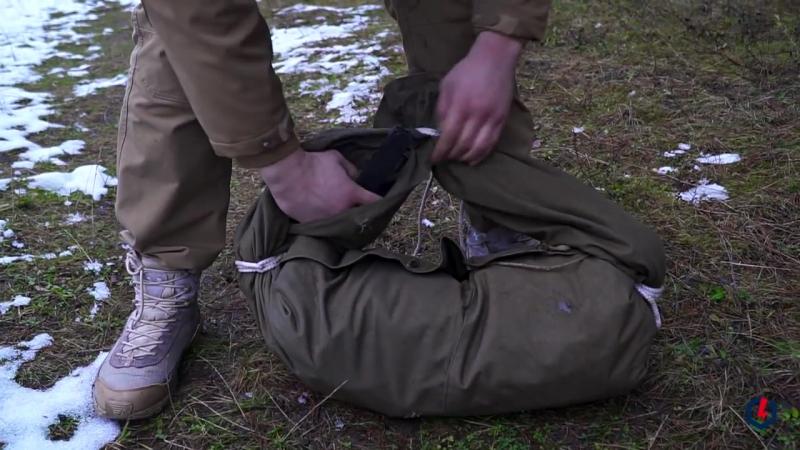 Как сделать рюкзак из плащ-палатки
