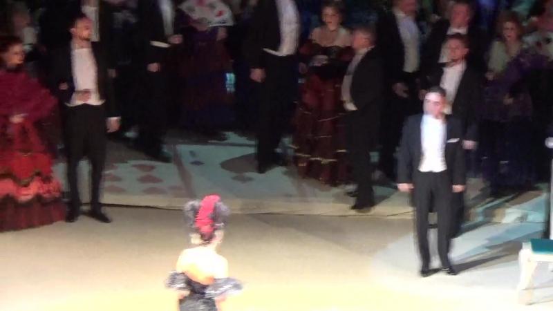 Сцена из Третьего действия оперы Травиата Дж Верди
