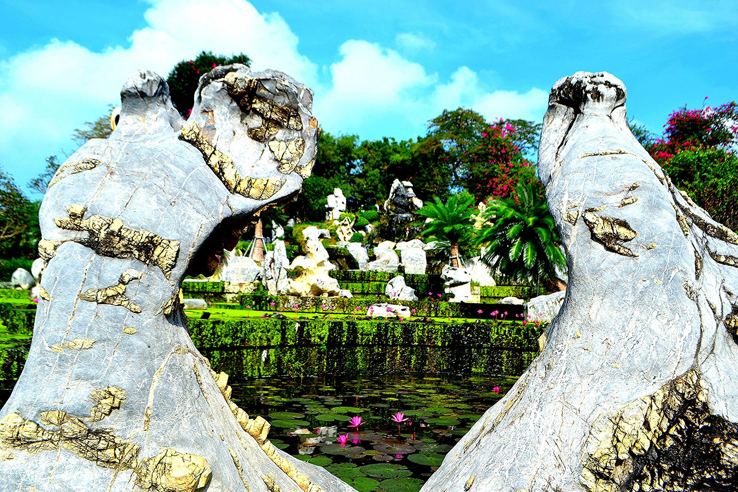 Елена Руденко ( Валтея ). Таиланд. Парк миллионолетних камней и крокодиловая ферма. 9Tb8vEhXT0M