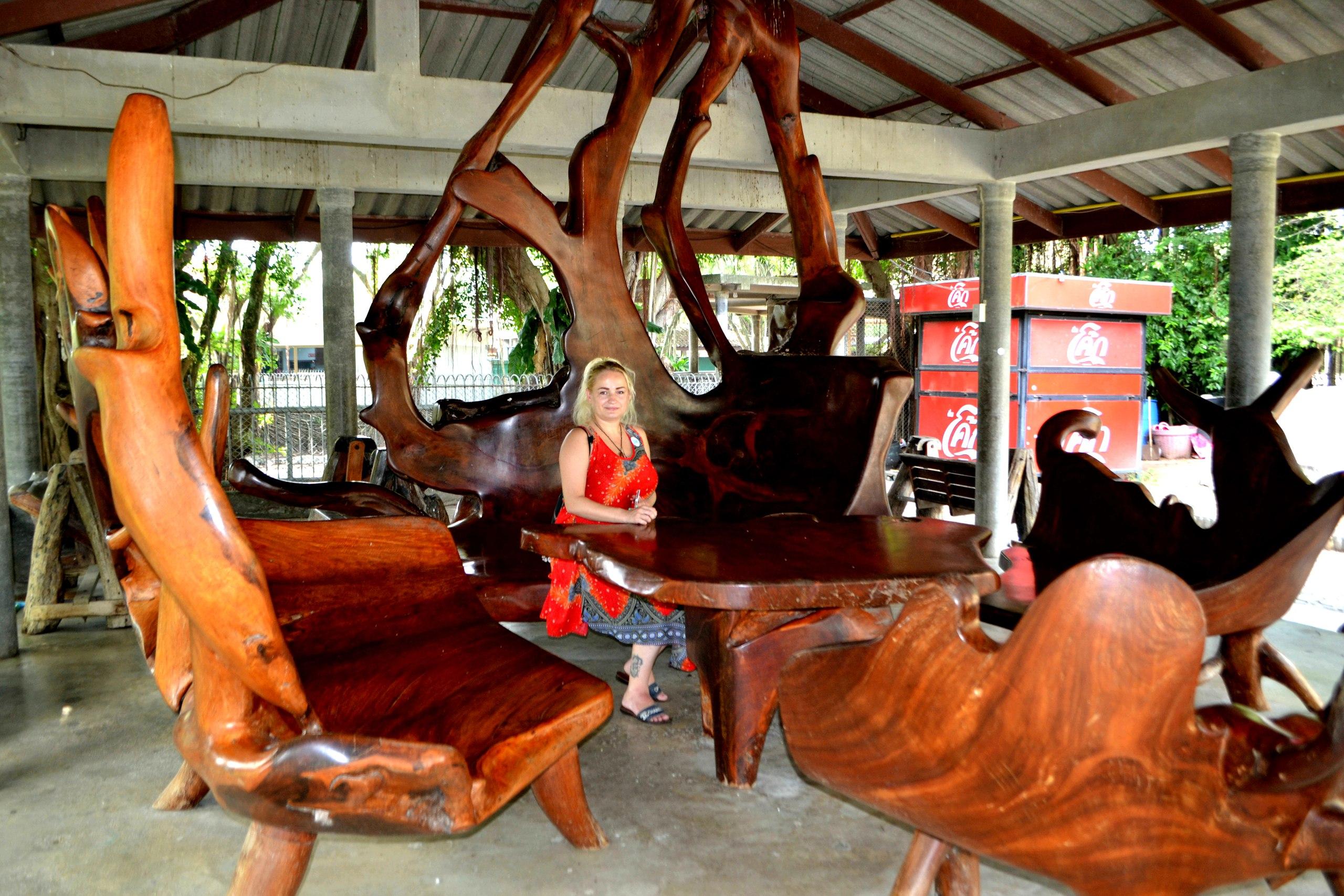 Елена Руденко ( Валтея ). Таиланд. Парк миллионолетних камней и крокодиловая ферма. Bif24o43mQE
