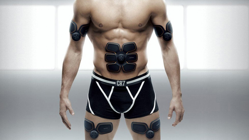 EMS-TRAINER - электростимулятор мышц.
