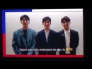 180324 CNBLUE message ~ Music Bank Chile