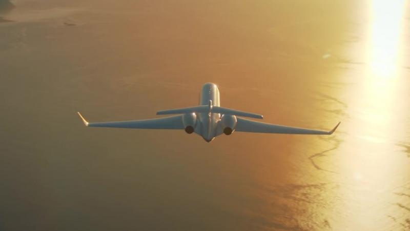 Gulfstream G650 Aerial Shots