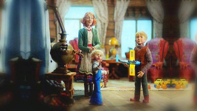 Новогоднее приключение двух братьев 2004, Россия, мультфильм