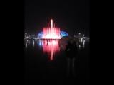 Сочи (Адлер) Олимпийский парк. Танцующий фонтан 24 марта 2018