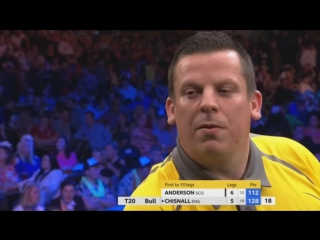 Gary Anderson vs Dave Chisnall (Champions League of Darts 2017 - Group B)