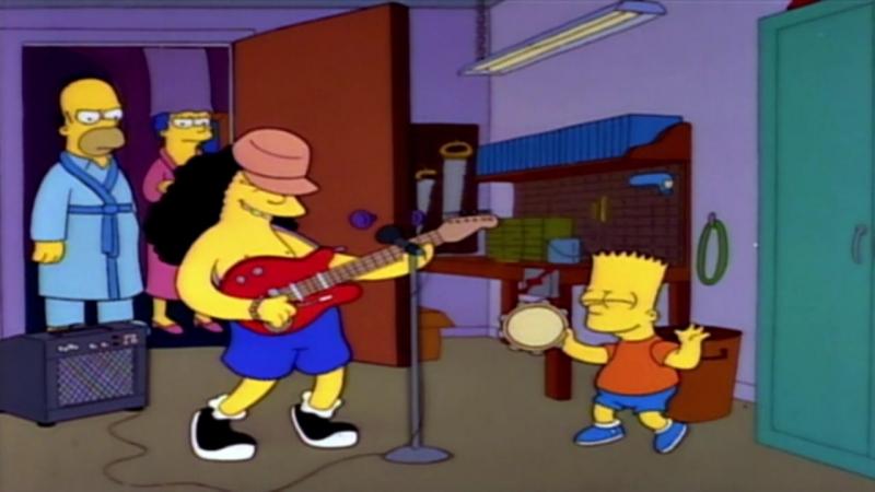 Otto playing RocknRoll