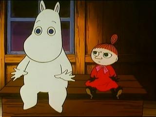 Los Moomins 22 - La Aventura de Mommin y Pequeñita