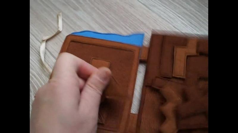 видеообзор танграмма и тетриса в виде шоколадки.