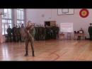 танец с казацкой шашкой курсанта ВКА им. А.Ф. Можайского