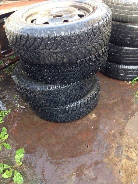 Обменяю колёса R14 зимняя резина, предлагайте варианты #NMK_авто