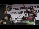 Talib Kweli &amp Crooklyn Dodgers at 12th Annual Brooklyn Hip-Hop Festival