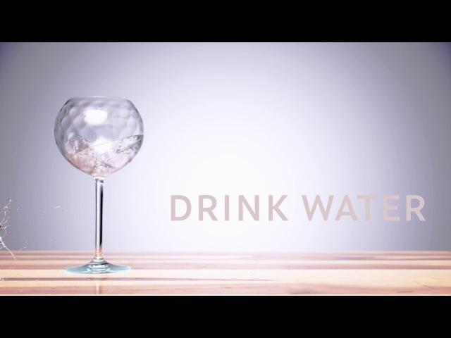 Drink Water. RealFlow Fstorm test
