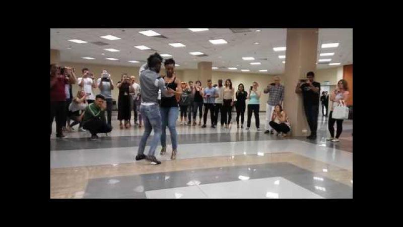 Kizomba Jacinto Teca Adoree (Balmuka Project) at the Moscow salsa kizomba festival 2016