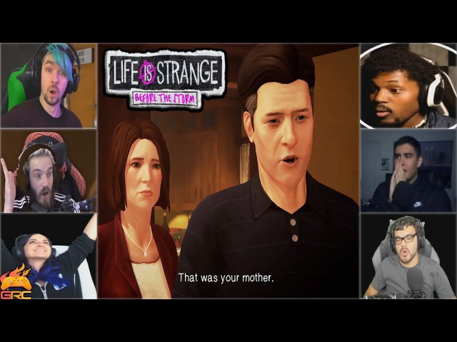 Gamers Reactions to That was your mom Scene (END) | Life is Strange: Before the Storm Episode 2
