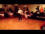 Eddie Torres Jr &amp Katherine Jimenez tearing it up at west gate lounge! 21415