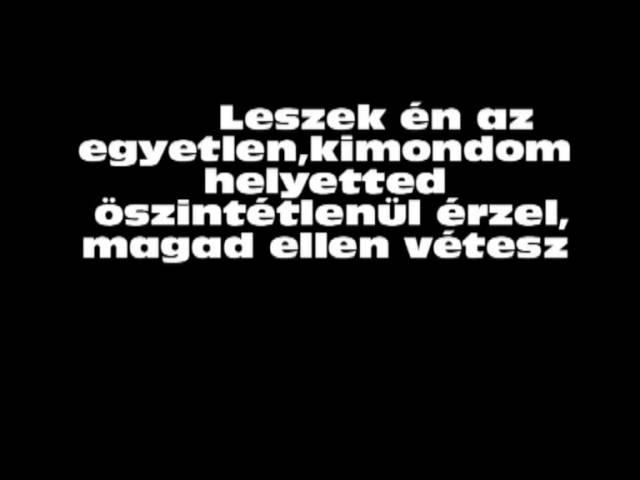 Leander- 8. főbűn lyrics (szöveg)