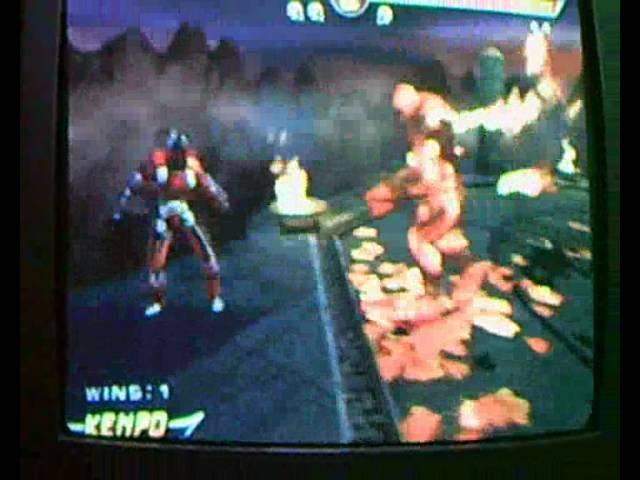 Mortal Kombat Armageddon: Glitch fuera del limite