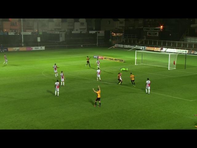 Newport County AFC 1:0 Cheltenham Town FC   12.09.2017, тур 7 Лиги 2