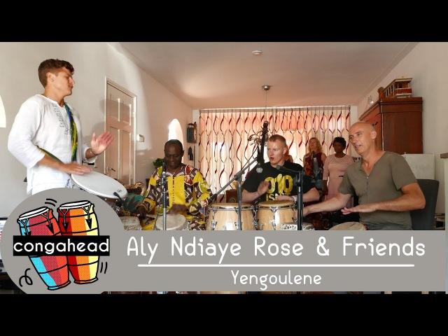 Aly Ndiaye Rose Friends perform Yengoulene