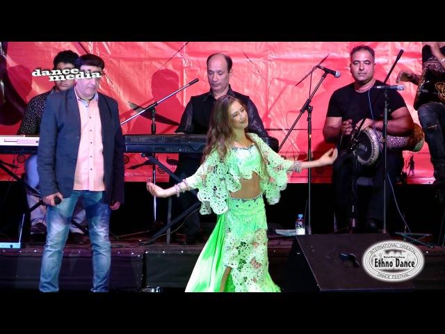 Baburina Polina Fe Youm We Leyla Live Band AL Azdekaa ETHNO DANCE 2016