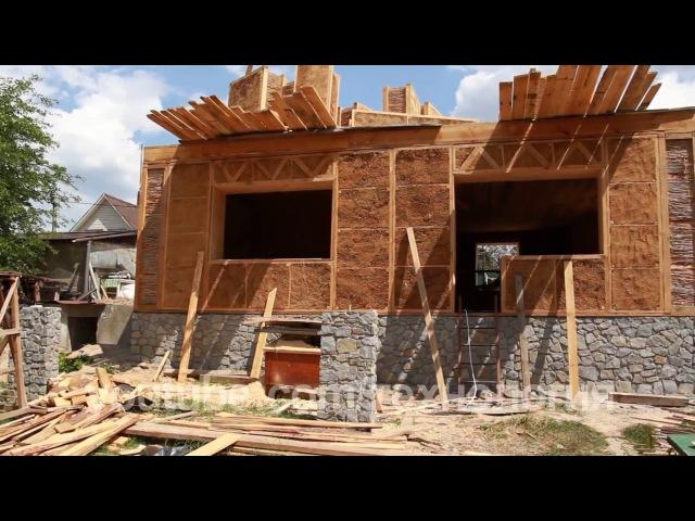 Строительство Эко дома своими руками тростник глина