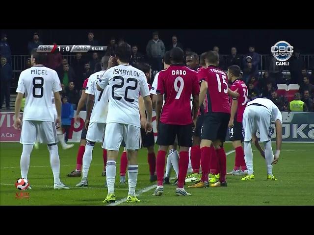 TPL 2017/2018, 9-cu tur, Qəbələ 1-0 Qarabağ Geniş icmal