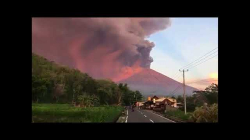 Bali Volcano Mount-Agung up close Balivolcano