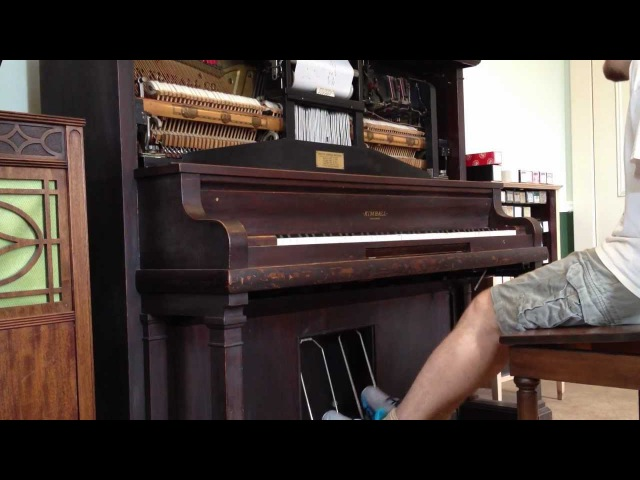 The Entertainer, Scott Joplin (1902) - Piano Roll (Scott Joplin House, rec. 2012)