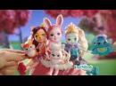Куклы Enchantimals - девочки и их питомцы.