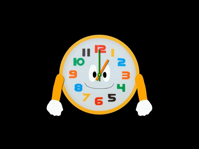 Telling Time 2 - Clock - The Kids' Picture Show (Fun Educational Learning Video)