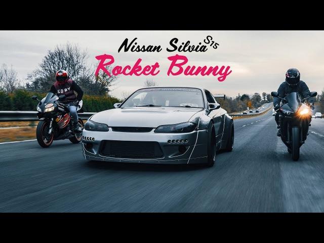 Drifting Rocket Bunny Nissan Silvia S15