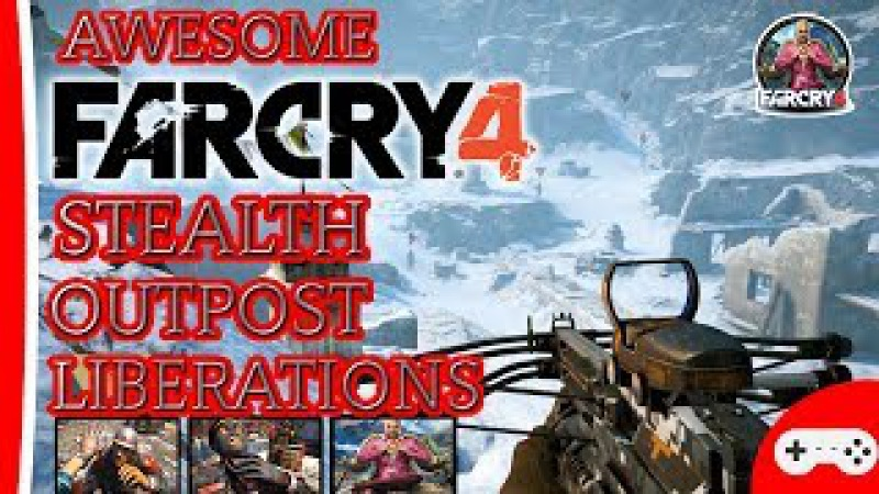 ✅ Far Cry 4 Awesome Stealth Kills Takedowns Undetected Full HD 2017.