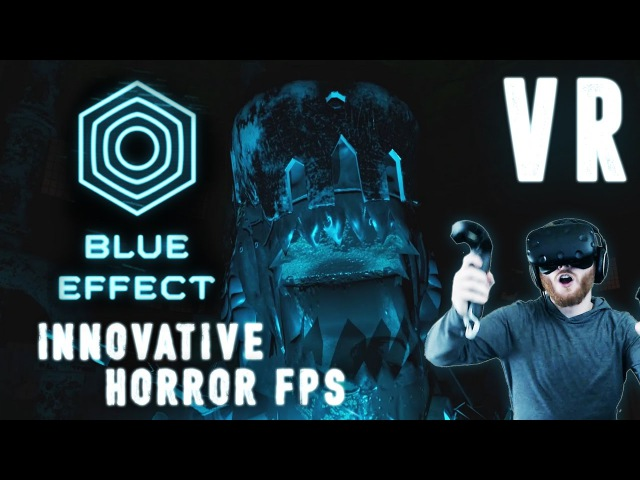 Blue Effect VR: Dark horror shooter gameplay on the HTC Vive