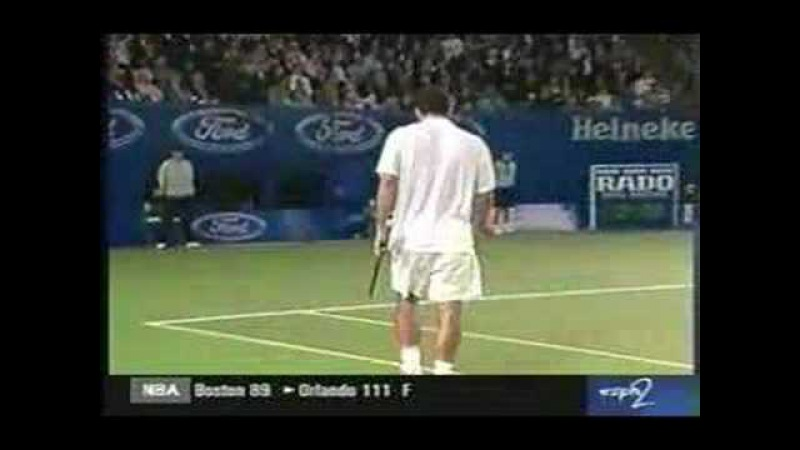 Agassi Vs Sampras Australian Open 2000 Incredible Tie Br