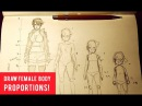 How To Draw, Female Body Proportions
