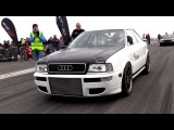1350HP Audi S2 Turbo FROM HELL!! INSANE Launch Controls 0-328 kmh!!