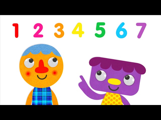 Seven Steps Numbers Song Super Simple Songs