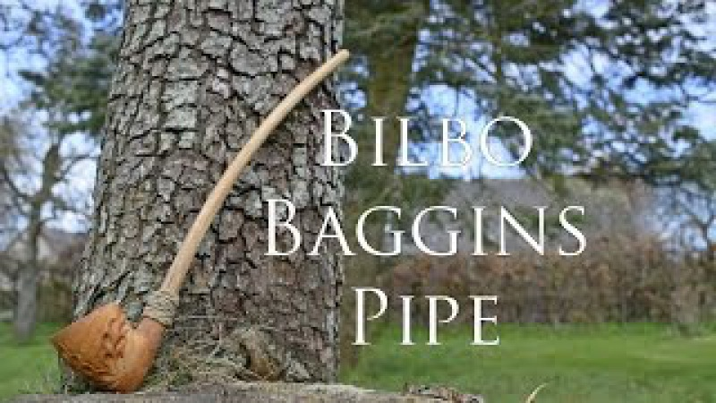 Woodworking - Bilbo Baggins Pipe